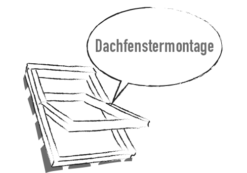 Dachfenstermontage